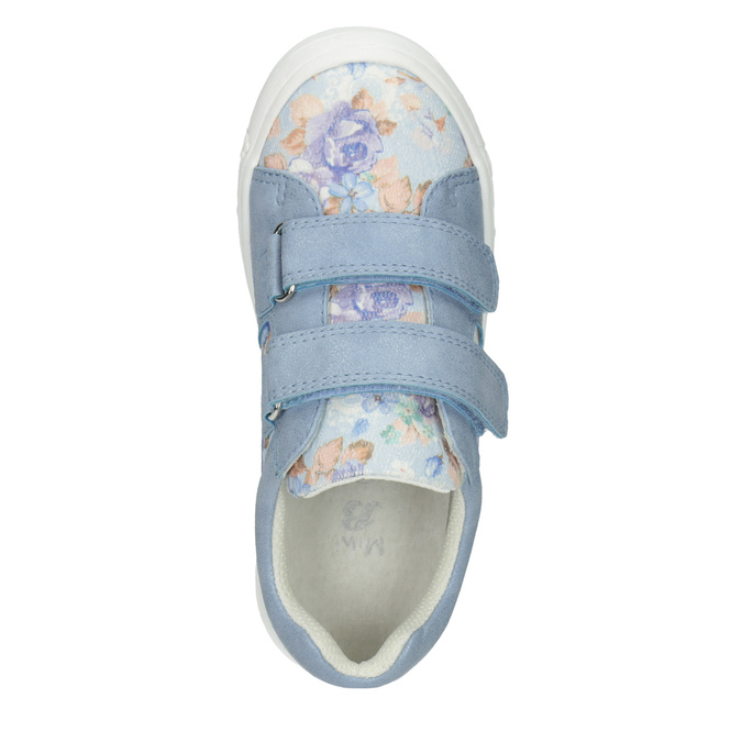 Kids' blue sneakers with a pattern mini-b, 221-9215 - 15