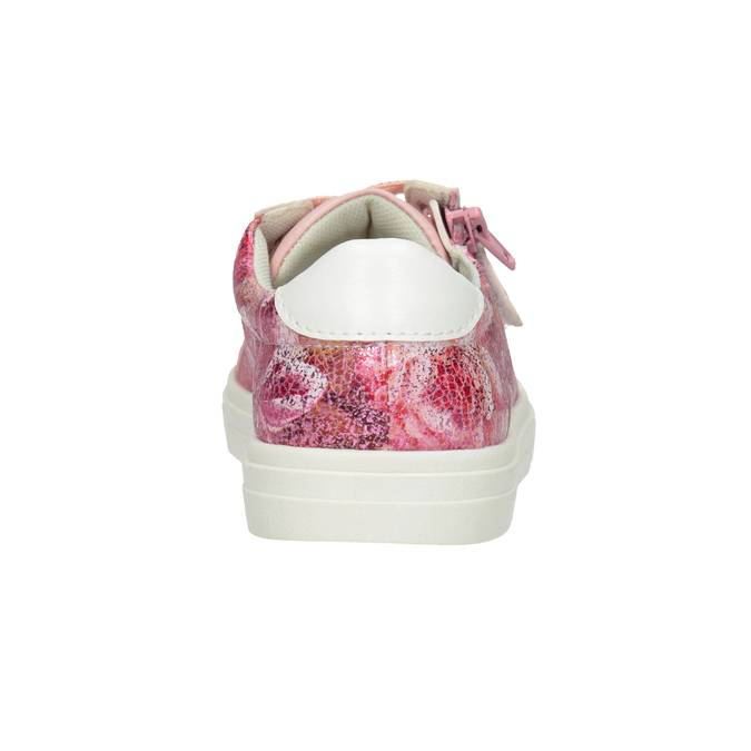 Kids' sneakers with a floral pattern mini-b, 321-5219 - 16