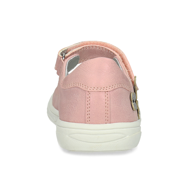 Girls' pink ballerinas mini-b, pink , 221-5216 - 15