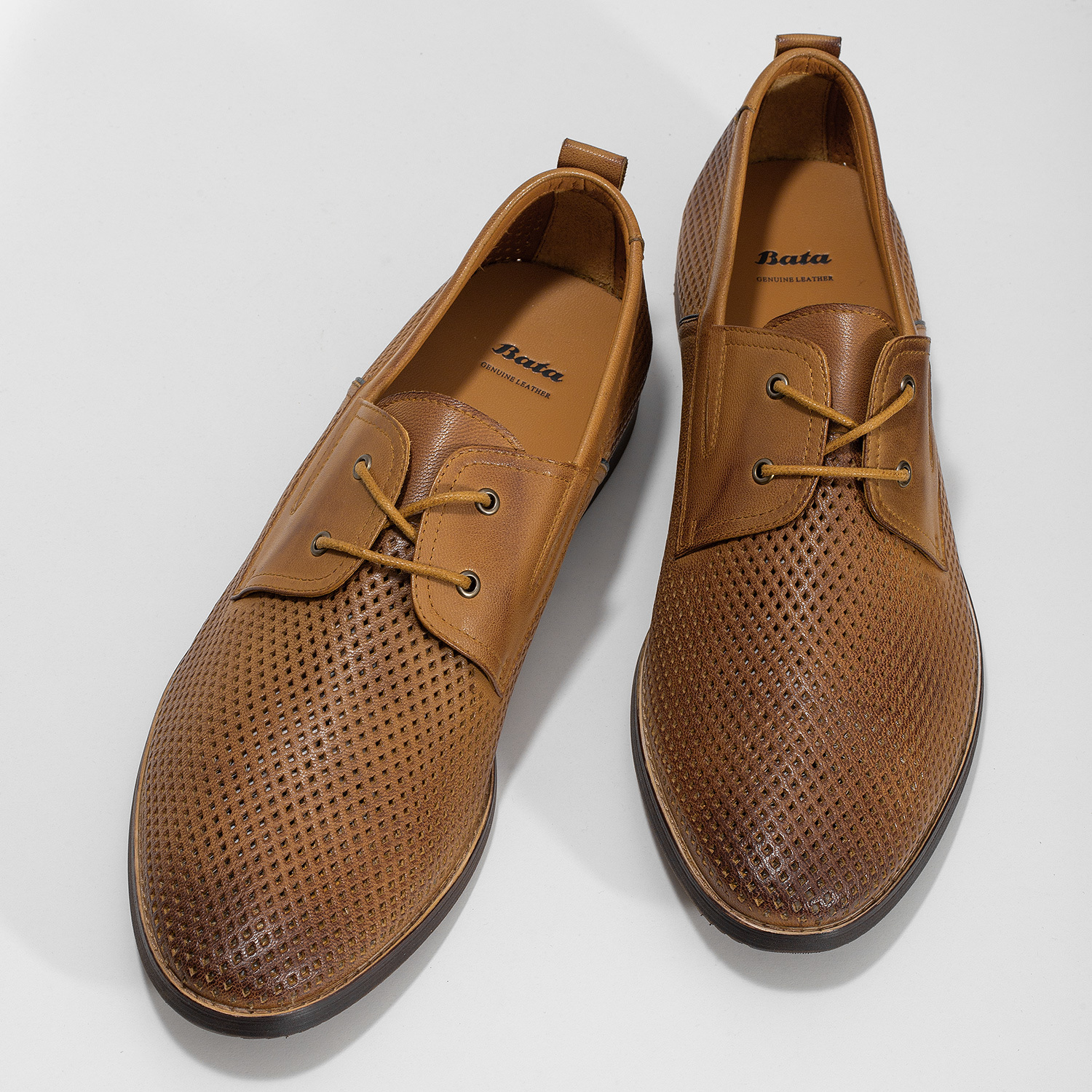 Bata Casual leather shoes with