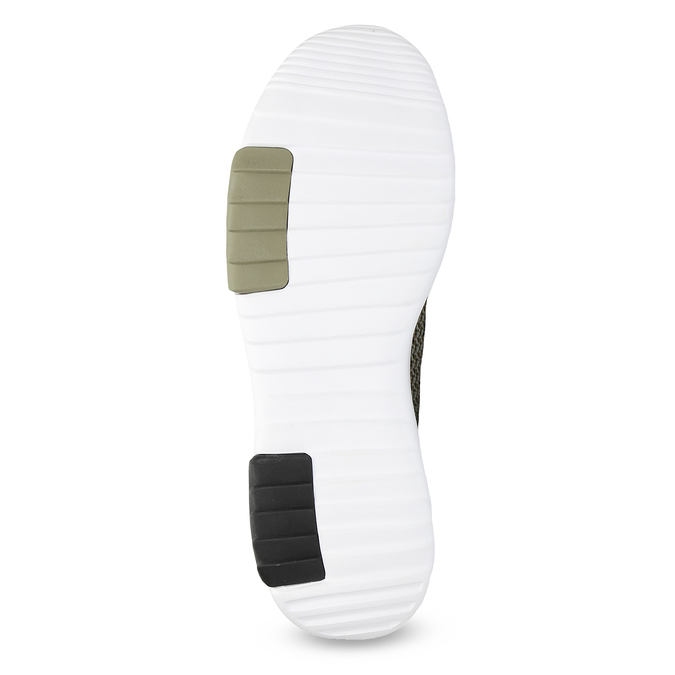 Sneakers in a sport design adidas, khaki, 809-7201 - 18