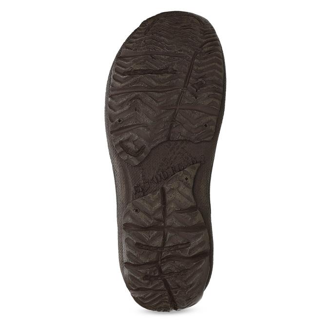 Men's leather sandals bata, brown , 866-2622 - 18