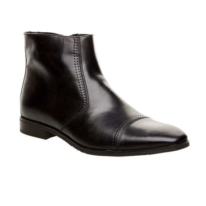 The Marc Chelsea Leather Boot bata, black , 2019-894-6578 - 13